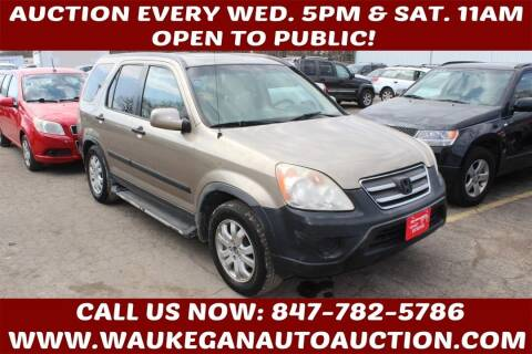 2005 Honda CR-V for sale at Waukegan Auto Auction in Waukegan IL