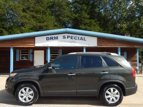 2012 Kia Sorento for sale at DRM Special Used Cars in Starkville MS