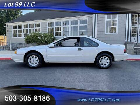 1994 Ford Thunderbird for sale at LOT 99 LLC in Milwaukie OR