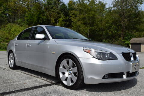 2007 BMW 5 Series for sale at CAR TRADE in Slatington PA
