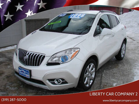 2014 Buick Encore for sale at Liberty Car Company - II in Waterloo IA