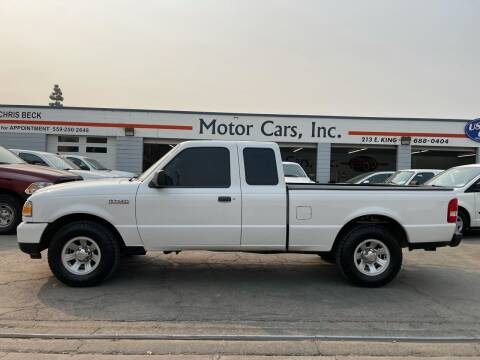2009 Ford Ranger for sale at MOTOR CARS INC in Tulare CA
