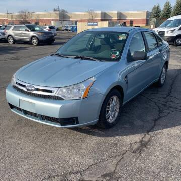 2008 Ford Focus for sale at GLOBAL MOTOR GROUP in Newark NJ