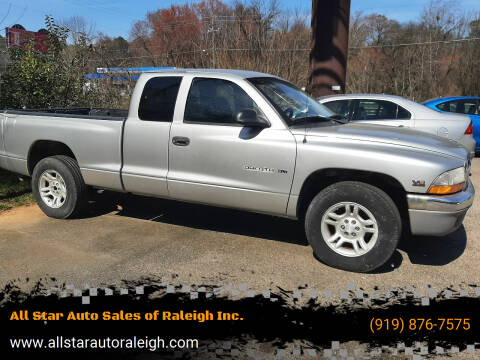2003 Dodge Dakota for sale at All Star Auto Sales of Raleigh Inc. in Raleigh NC