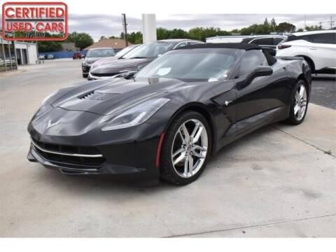 2014 Chevrolet Corvette for sale at South Plains Autoplex by RANDY BUCHANAN in Lubbock TX