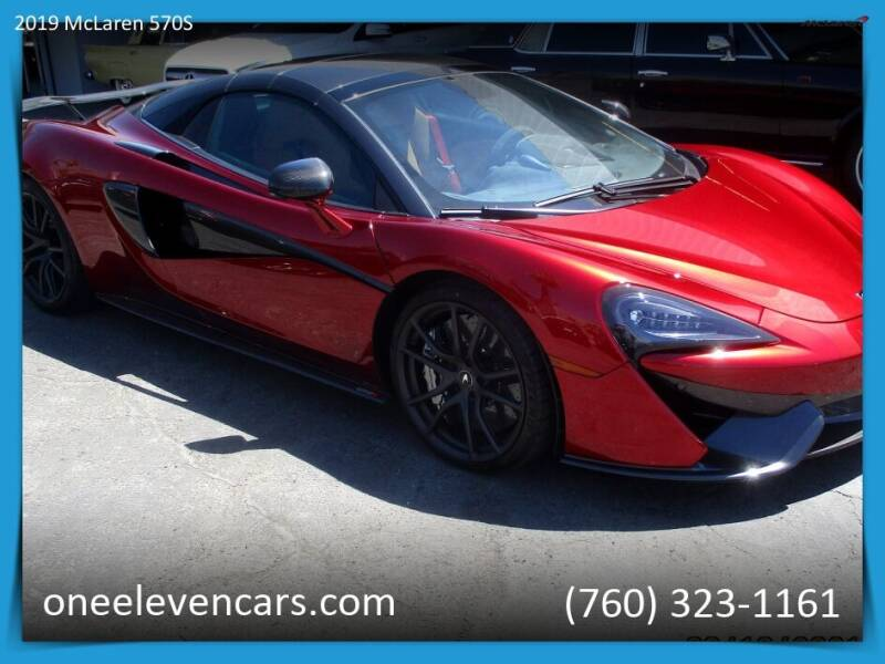 2019 McLaren 570S Spider for sale in Palm Springs, CA