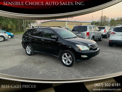 2008 Lexus RX 350 for sale at Sensible Choice Auto Sales, Inc. in Longwood FL