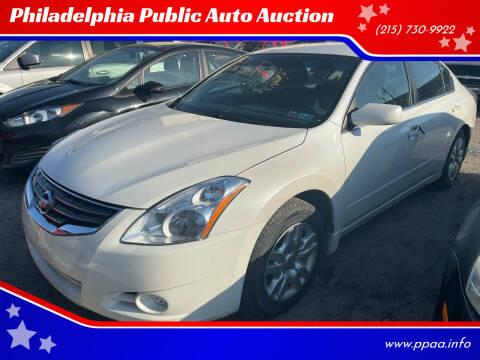 2012 Nissan Altima for sale at Philadelphia Public Auto Auction in Philadelphia PA