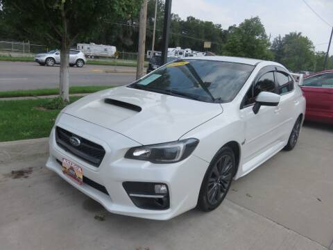2016 Subaru WRX for sale at Azteca Auto Sales LLC in Des Moines IA