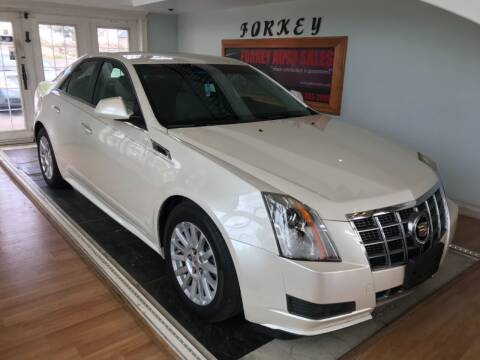 2012 Cadillac CTS for sale at Forkey Auto & Trailer Sales in La Fargeville NY