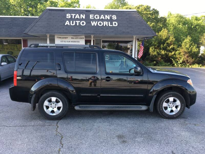 2007 Nissan Pathfinder for sale at STAN EGAN'S AUTO WORLD, INC. in Greer SC
