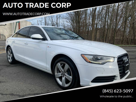 2012 Audi A6 for sale at AUTO TRADE CORP in Nanuet NY