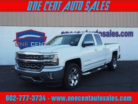 2017 Chevrolet Silverado 1500 for sale at One Cent Auto Sales in Glendale AZ