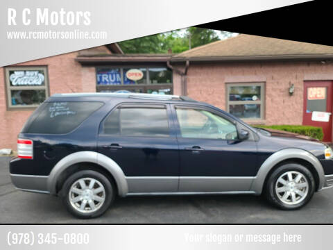 2009 Ford Taurus X for sale at R C Motors in Lunenburg MA