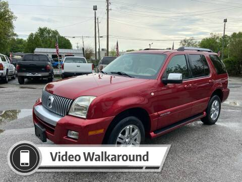 2008 Mercury Mountaineer for sale at NJ Enterprises in Indianapolis IN
