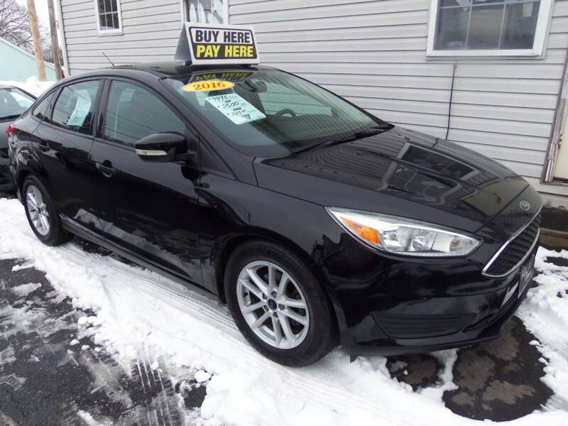 2016 Ford Focus for sale at Fulmer Auto Cycle Sales - Fulmer Auto Sales in Easton PA