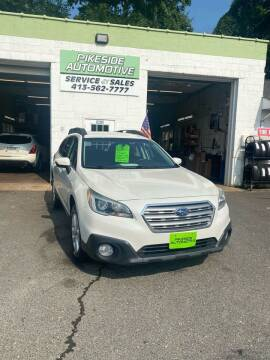 2015 Subaru Outback for sale at Pikeside Automotive in Westfield MA