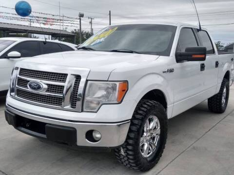 2011 Ford F-150 for sale at A & V MOTORS in Hidalgo TX