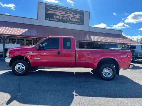 2004 Ford F-350 Super Duty for sale at Ridley Auto Sales, Inc. in White Pine TN