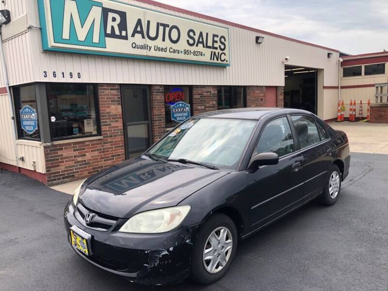 2005 Honda Civic for sale at MR Auto Sales Inc. in Eastlake OH