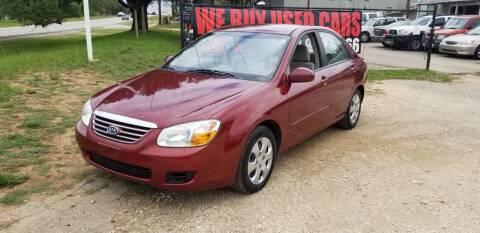 2007 Kia Spectra for sale at STX Auto Group in San Antonio TX