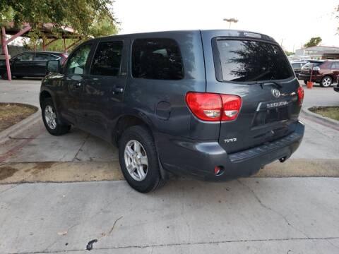 2009 Toyota Sequoia for sale at El Jasho Motors in Grand Prairie TX