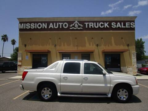 2003 Cadillac Escalade EXT for sale at Mission Auto & Truck Sales, Inc. in Mission TX