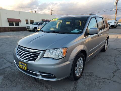 2015 Chrysler Town and Country for sale at CHURCHILL AUTO SALES in Fallon NV