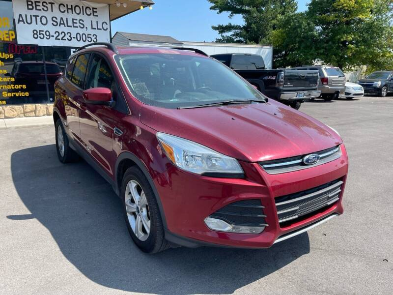 2014 Ford Escape for sale at Best Choice Auto Sales in Lexington KY