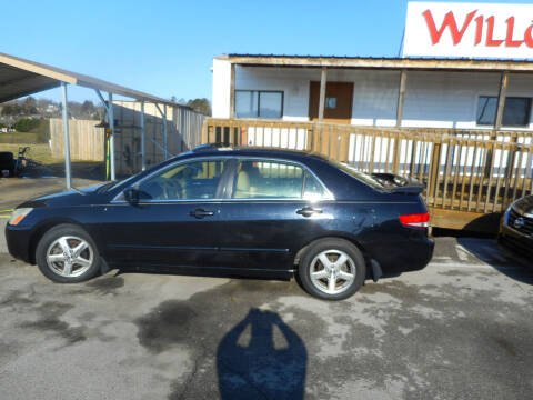 2003 Honda Accord for sale at Willow Creek Auto Sales in Knoxville TN