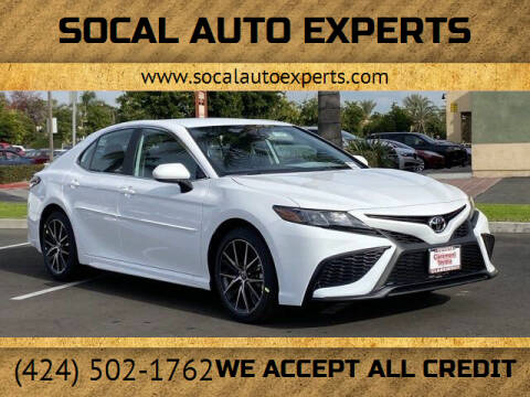 2021 Toyota Camry for sale at SoCal Auto Experts in Culver City CA