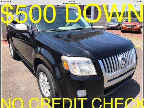 2010 Mercury Mariner for sale at Cooks Motors in Westampton NJ