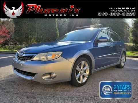 2008 Subaru Impreza for sale at Phoenix Motors Inc in Raleigh NC