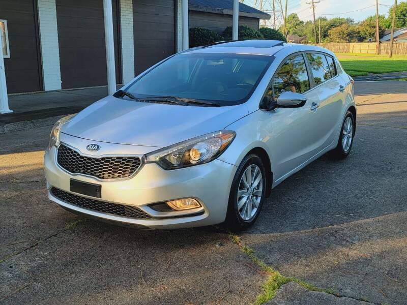 2014 Kia Forte5 for sale at MOTORSPORTS IMPORTS in Houston TX