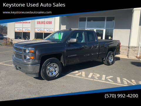 2015 Chevrolet Silverado 1500 for sale at Keystone Used Auto Sales in Brodheadsville PA