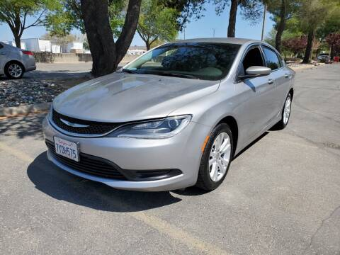 2016 Chrysler 200 for sale at Matador Motors in Sacramento CA