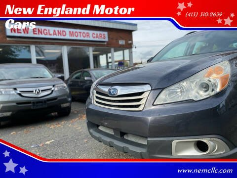 2011 Subaru Outback for sale at New England Motor Cars in Springfield MA
