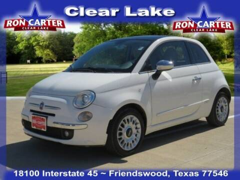 2013 FIAT 500 for sale at Ron Carter  Clear Lake Used Cars in Houston TX