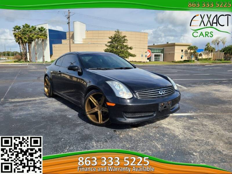 2006 Infiniti G35 for sale at Exxact Cars in Lakeland FL