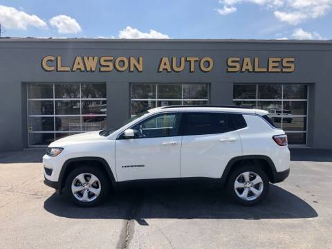 2018 Jeep Compass for sale at Clawson Auto Sales in Clawson MI