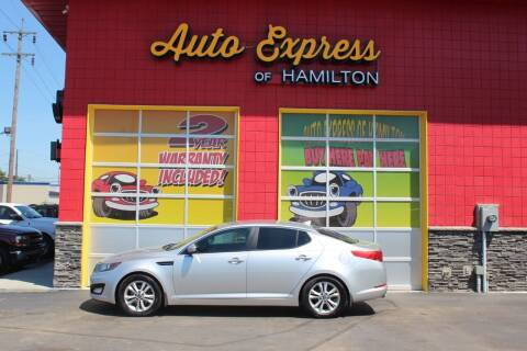 2011 Kia Optima for sale at AUTO EXPRESS OF HAMILTON LLC in Hamilton OH
