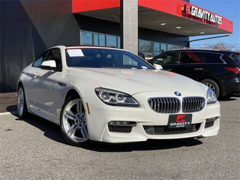 2017 BMW 6 Series for sale at Gravity Autos Roswell in Roswell GA