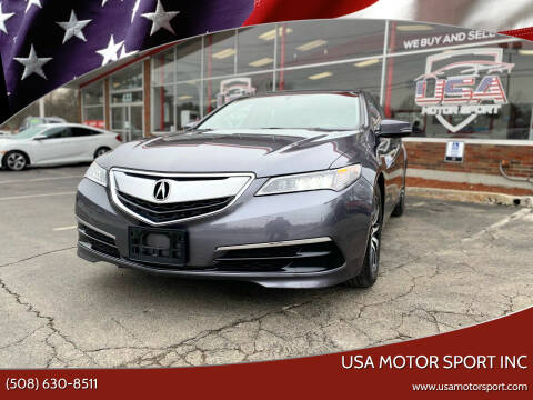 2017 Acura TLX for sale at USA Motor Sport inc in Marlborough MA