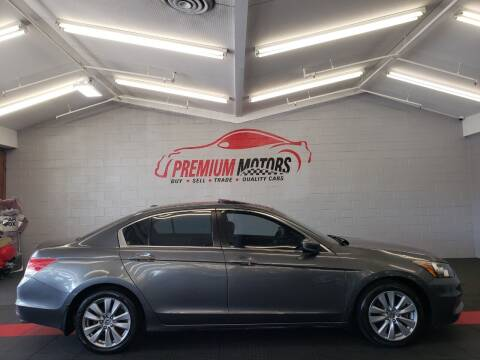 2012 Honda Accord for sale at Premium Motors in Villa Park IL