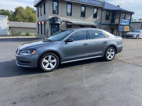2013 Volkswagen Passat for sale at Sisson Pre-Owned in Uniontown PA
