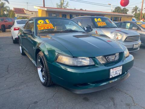 2001 Ford Mustang for sale at Crown Auto Inc in South Gate CA
