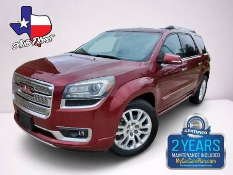 2015 GMC Acadia for sale at AUTO DIRECT in Houston TX