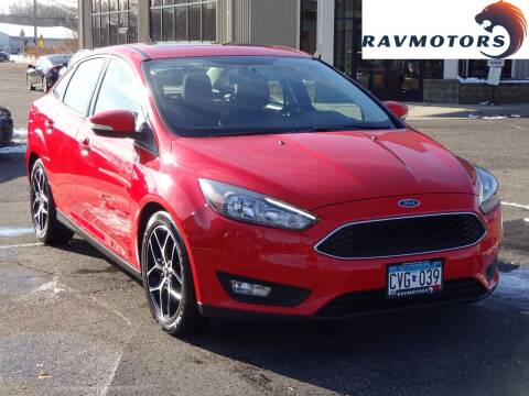 2017 Ford Focus for sale at RAVMOTORS 2 in Crystal MN