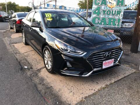2018 Hyundai Sonata for sale at Riverside Wholesalers 2 in Paterson NJ