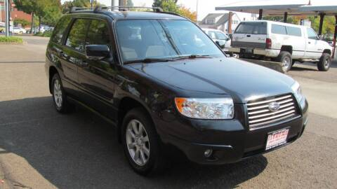2007 Subaru Forester for sale at D & M Auto Sales in Corvallis OR